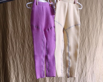 SALE kids knickers pants upcycled cashmere merino wool crafted from fine knit sweaters this is upcycling this is slow fashion & the future