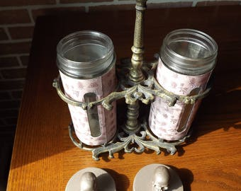 Steampunk Pestilence Containers Zombie Virus Horror Halloween Prop