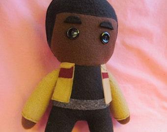 Finn Star Wars: The Force Awakens Fleece Plush Doll