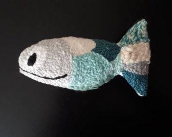 Fish punchneedle
