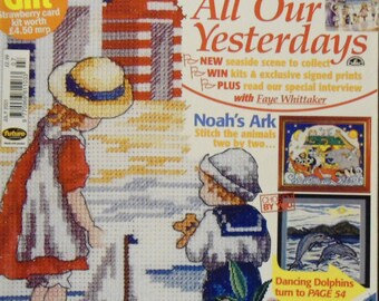 Cross Stitcher UK Craft Magazine July 2001 Issue 190
