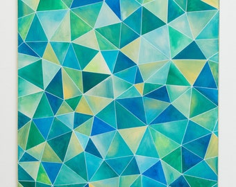 Original Geometric Abstract