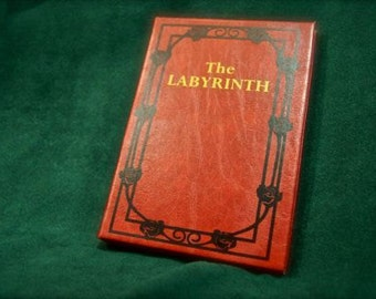 The Labyrinth Jim Henson DVD Movie – Leather Book Replica DVD Case