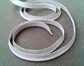 Laminated piping in silver color 10 mm