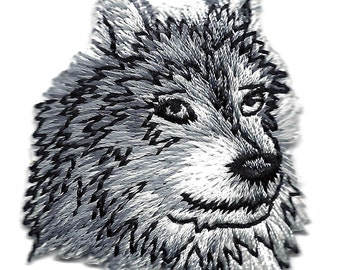 WOLF iron on patch applique