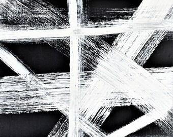 8x10 abstract modern contemporary wall art print