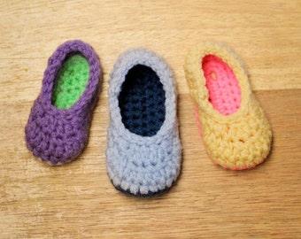Crochet Pattern - Little Oma Slippers