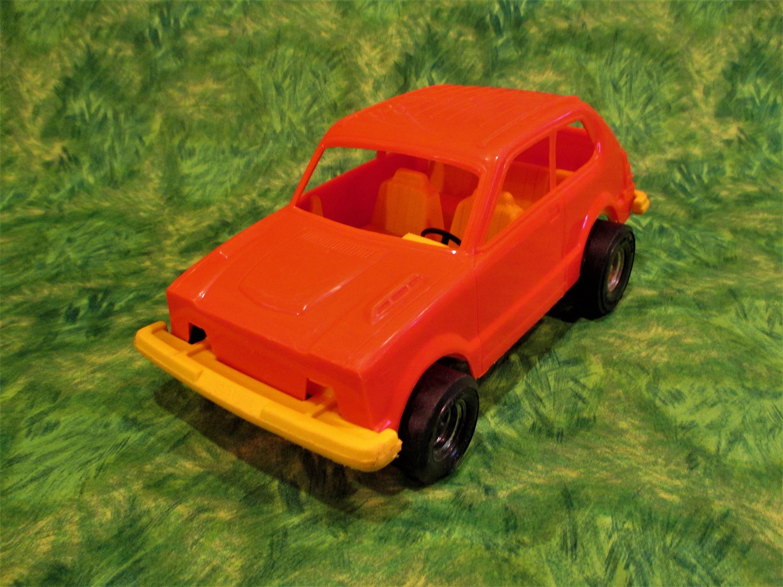Strombecker Honda Civic Plastic Model Car Cvcc Made In Usa 1970 Description Vintage