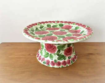 Pedestal Cake Stand Emily Rose by Don Swanson Designs Cake Plate