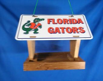 University of Florida Gators license plate bird feeder (WAP-408/2)