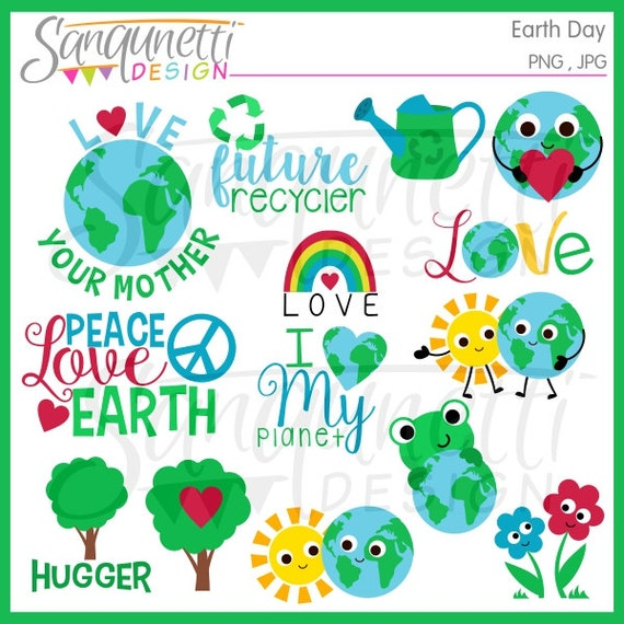 Earth day clipart earth clipart recycle clipart environmental earth day clipart earth clipart recycle clipart environmental clipart nature clipart peace clipart instant download from sanqunettidesigns on etsy voltagebd Choice Image
