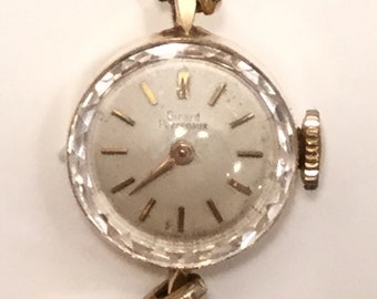 Vintage Girard Perregaux Watch, 14K Gold Case