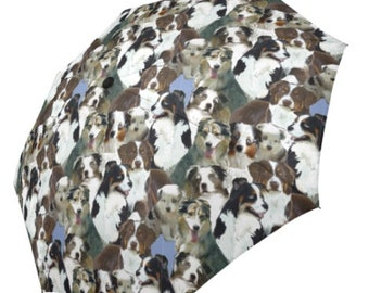 Australian Shepherd umbrella