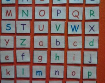 Alphabet Felt, Alphabet Felt Letters, Felt Letters, Educational Toys, Preschool Learning, Montessori Toddler, Alphabet Felt Board, ABC Felt