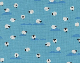 Sheep (Water) from Panorama Ocean by Melody Miller and Sarah Watts for Cotton + Steel