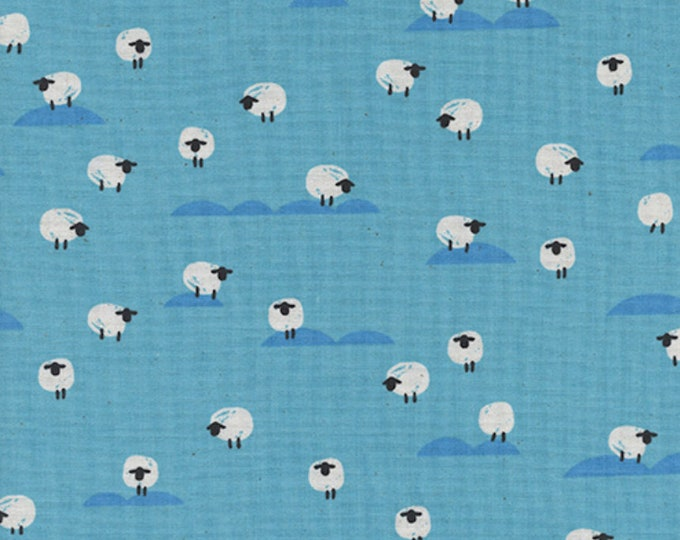 PRESALE: Sheep (Water) from Panorama Ocean by Melody Miller and Sarah Watts for Cotton + Steel