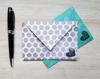 letter writing set, spring stationery set, letter writing paper, writing paper set, envelope, stationary, gift for mom, floral, polka dot
