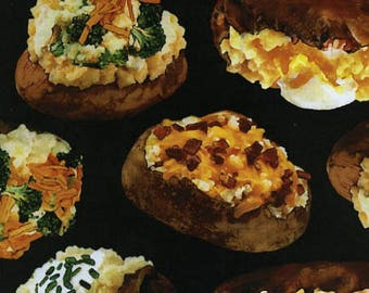 Loaded Baked Potatoes-Timeless Treasures-BTY