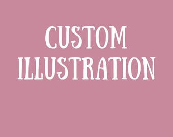 CUSTOM GREETING CARD // custom card, personalized card, custom wedding card, birthday card, unique card, personalized, personalized greeting
