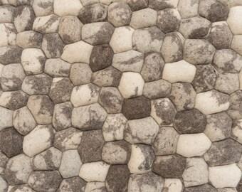 Gozo Stones Wool Rug
