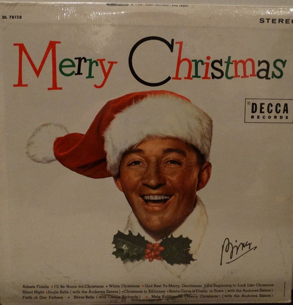 Bing Crosby –Merry Christmas 1971 Featuring The Andrews Sisters NEW ( LP,  Album, Vinyl Record ) Pop, Christmas, Holiday Music