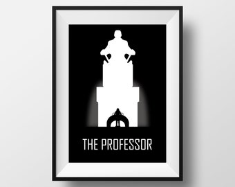 The professor print, X-men print, X-men poster, X-men printable, X-men decor, Professor X print, Professor X poster, Professor X decoration