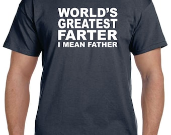 father gift stepdad gift father in law gift gift for dad worlds greatest farter t shirt - Father In Law Gifts For Christmas