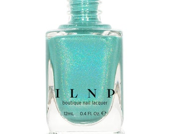 Music Box - Rich Teal Blue Holographic Nail Polish