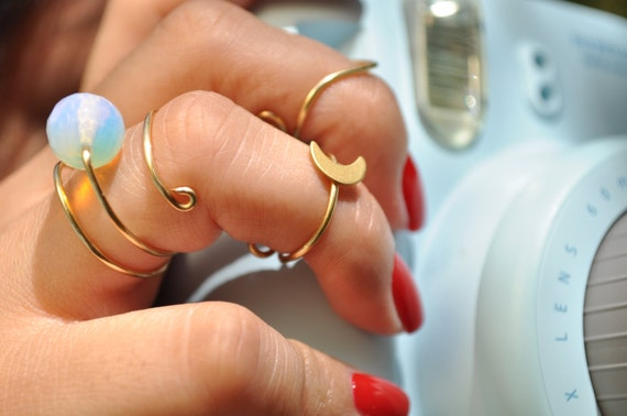 Majestic Opalite Ring
