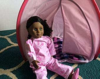 18 inch doll pajamas