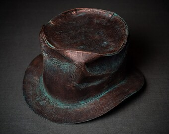 Steampunk Top Hat Steam-Punk Top-Hat Tophat Men Women Hat Mens Hat Womens Hat Mad Hatter Hat Alice in Wonderland Hat Steam Punk