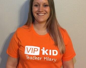 VIPKid Teacher personalized t shirt