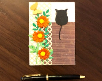 Lattice cat, card