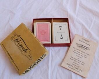 1936 Flinch Card Game