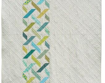 Diamond Tread Quilt Pattern