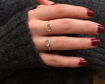 Gold knot ring/gold love knot/love knot ring/real gold knot ring/9ct gold knot ring/9 carat gold knot ring/gold love knot