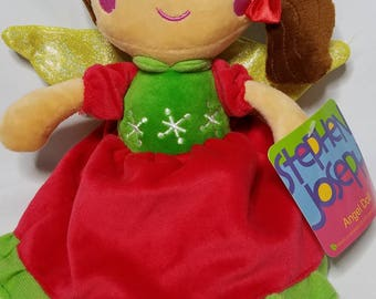 Personalized Doll, Christmas Angel Doll, Angel Christmas Doll