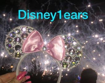 Diamontie glitter ears bling ears princess ears