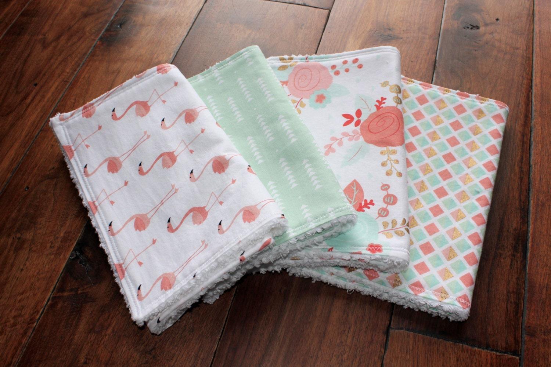 Stella Bundle Baby Mädchen Spucktücher Spucktuch Tuch Set