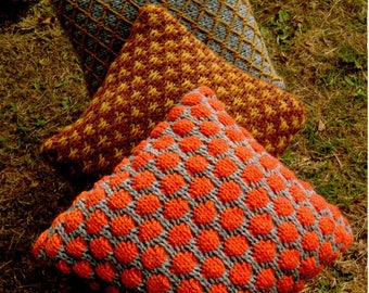 Wendy Serenity Super Chunky Cushions and Bowl Knitting Pattern PDF Download