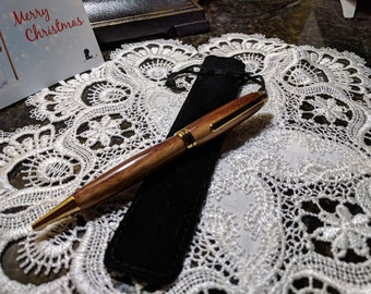 Handmade Mexican Royal Ebony/Katalox wood ballpoint pen