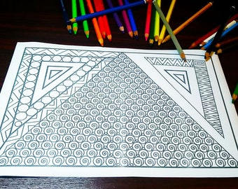Printable Coloring Doodles