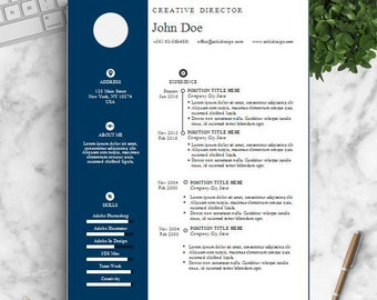Sale,  Resume Template, Word and Pages, Cover Letter, References, Resume Writing Guide, cv template, instant Download for MS Word, cv