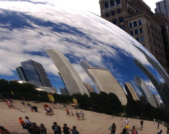 The Bean, Chicago, Cloud Gate, Midwest photography, Wall Art, Office Decor