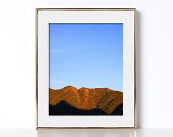 Mountain Poster Digital Download Cabin Wall Decor Mountain Photography Printable Art Mountain Print Minimalist Art Mountains Poster Art