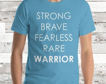 Warrior Words Adult Shirt - YOUR COLOR