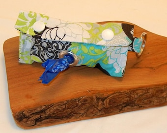 Floral Print Doggie Doody Bag Holder