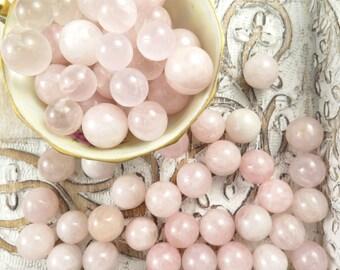 Rose Quartz Spheres - Crystal Orbs