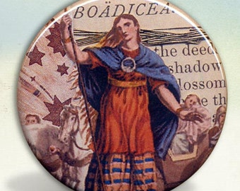 Warrior Queen Boudica (Boadicea) Pocket Mirror