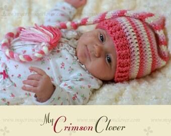 Baby Hat Pattern Crochet - Stocking Cap